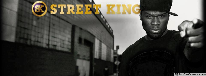 50 Cent Street King Facebook Timeline Cover
