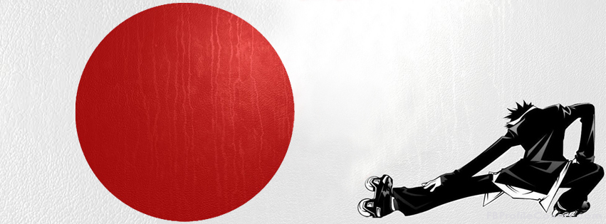 Air Gear & Japanese Flag Facebook Timeline Cover