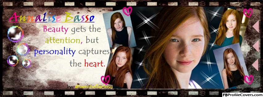 Annalise Basso Facebook Timeline Cover Image