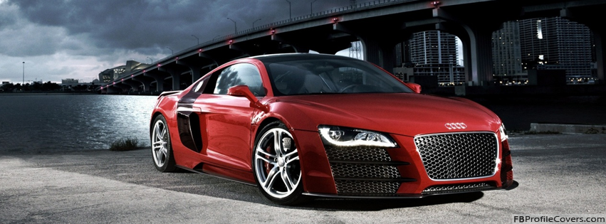 Audi R8 Supercar Facebook Timeline Cover Picture