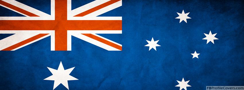 Australian Flag Facebook Timeline Cover Image