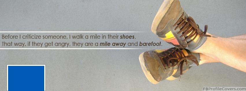Barefoot Facebook Timeline Cover Image