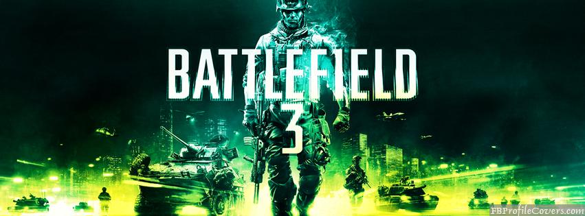 Battlefield 3 Facebook Timeline Cover