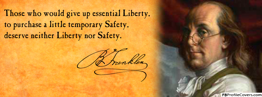 Benjamin Franklin Facebook Timeline Cover