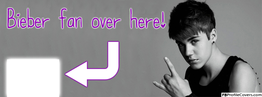 Bieber Fan Arrow Facebook Timeline Cover