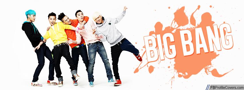 Big Bang Facebook Cover Image