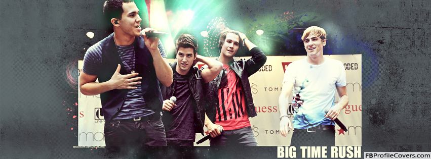 Big Time Rush Band Facebook Timeline Cover Photo