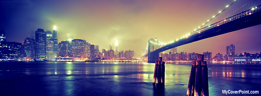 Bridge And City FB Timeline Cover Image