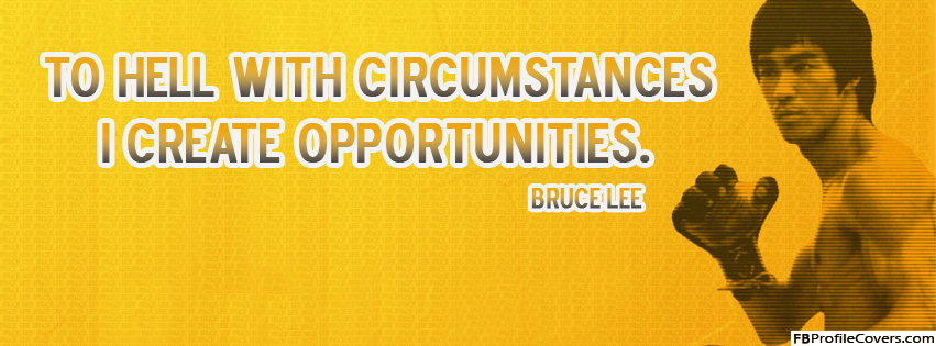 Bruce Lee Quote Facebook Timeline Cover Photo