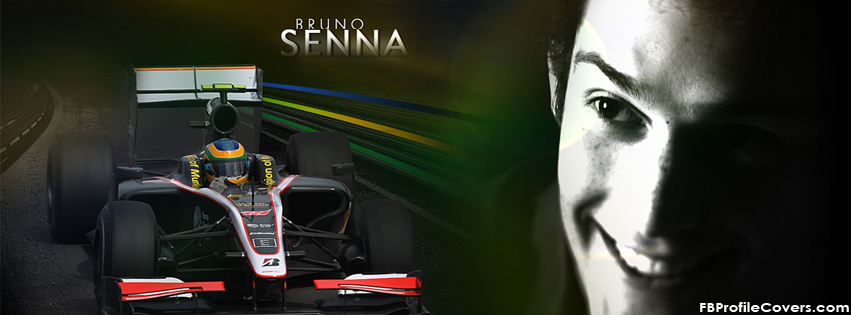 Bruno Senna Facebook Timeline Cover