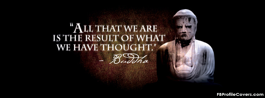 Buddha Quote Facebook Timeline Cover