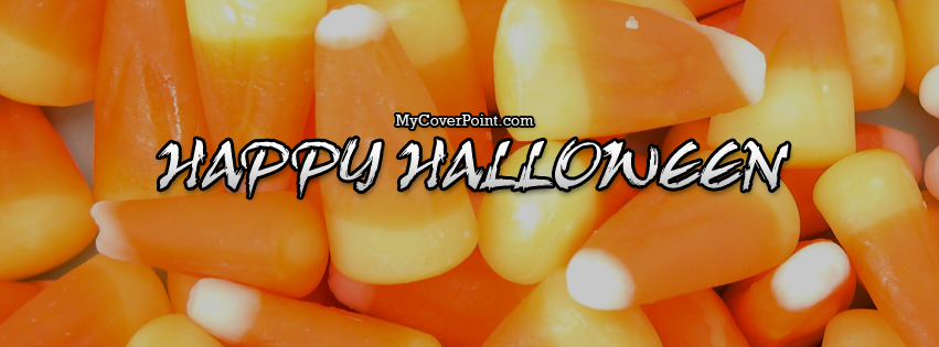 Candy Corn Halloween Facebook Cover Image