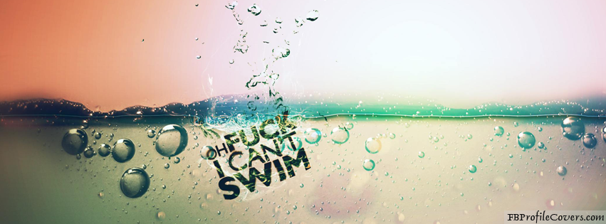 Can't Swim Facebook Timeline Cover