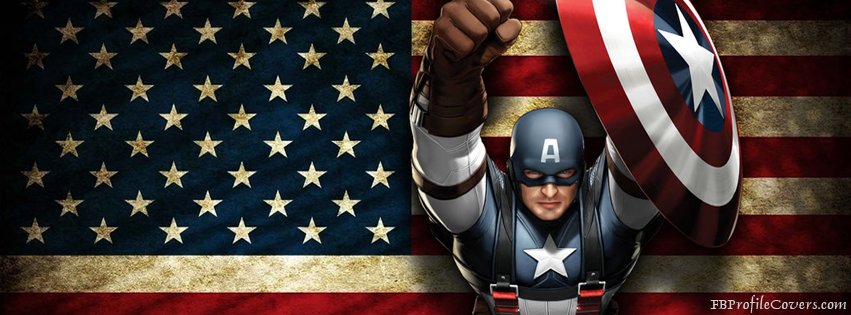 Captain America Facebook Timeline Cover