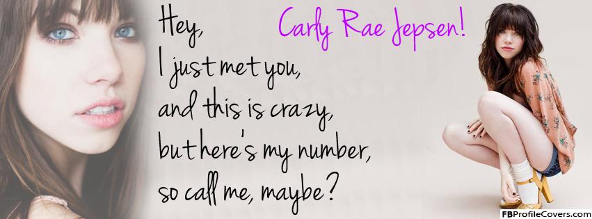 Carley Rae Jepson Facebook Timeline Cover