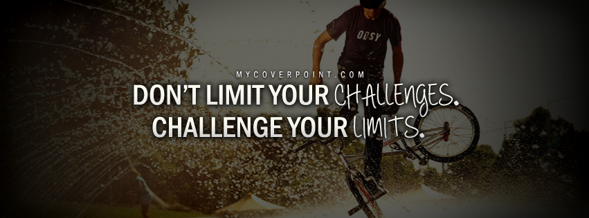 Challenge Your Limits Facebook Cover