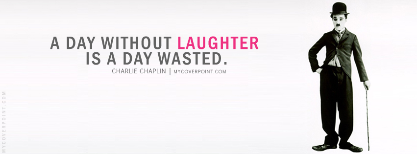 Charlie Chaplin Quote Facebook Cover