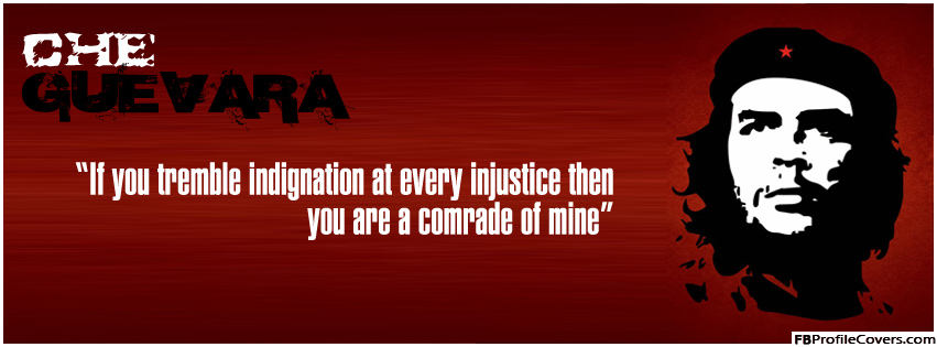 Che Guevara Quote Facebook Timeline Cover Image