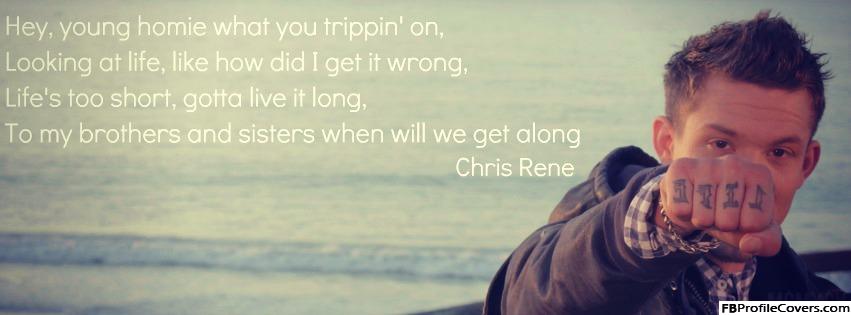 Chris Rene Facebook Timeline Cover