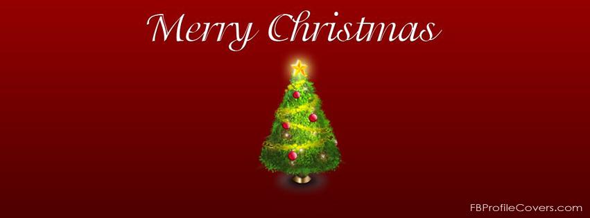 Christmas Tree FB Timeline Cover
