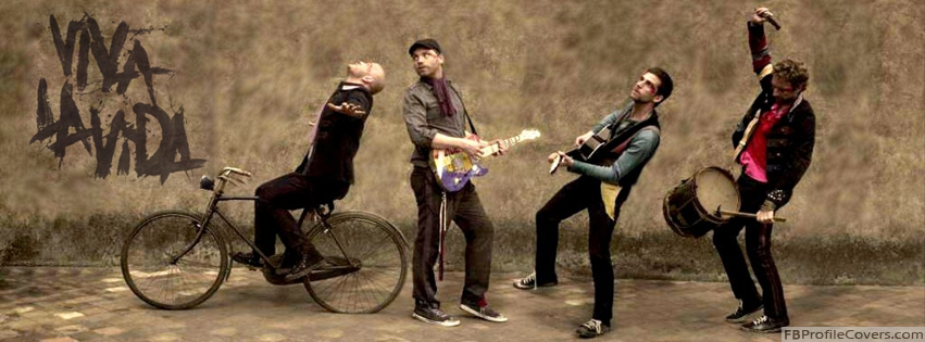Coldplay Facebook Timeline Cover Banner Image For FB Timeline Photo
