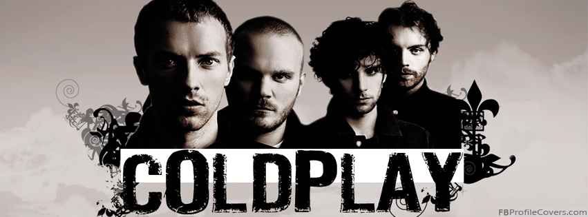 Coldplay Facebook Timeline Profile Cover Photo