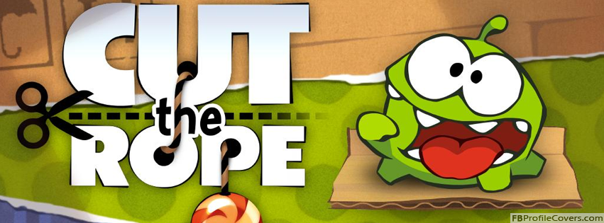 Cut The Rope Facebook Timeline Profile Cover Photo