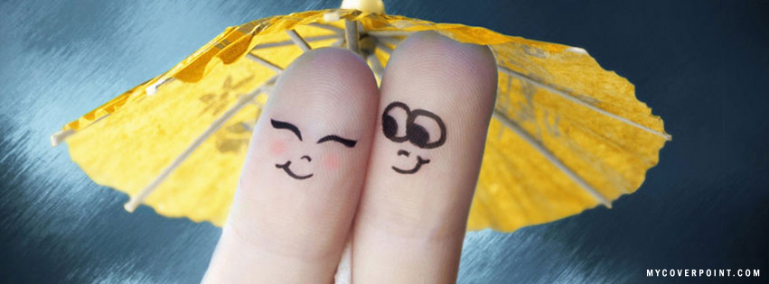 Cute Fingers Facebook Cover