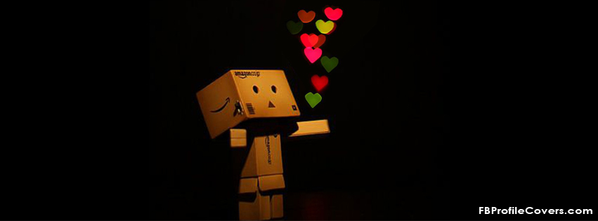 Danbo Spreading Love Facebook Timeline Cover