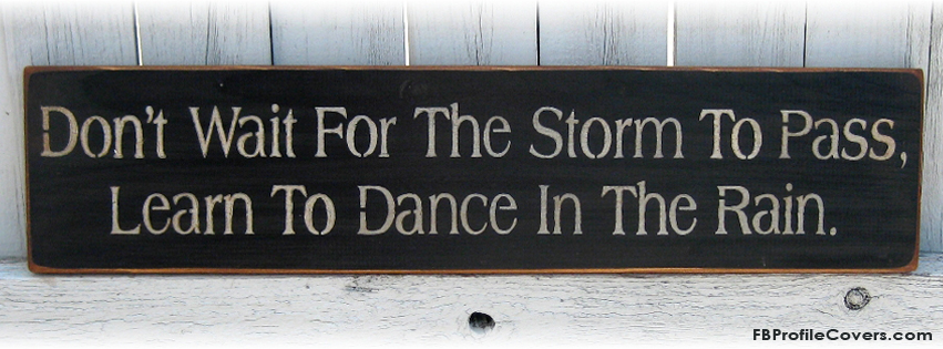 Dance In The Rain Facebook Timeline Cover