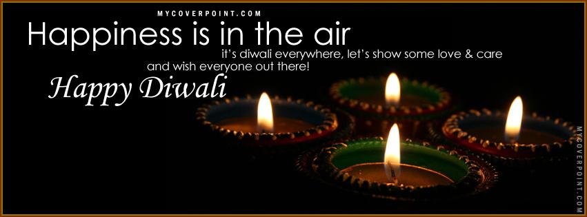 Diwali Everywhere Facebook Timeline Cover