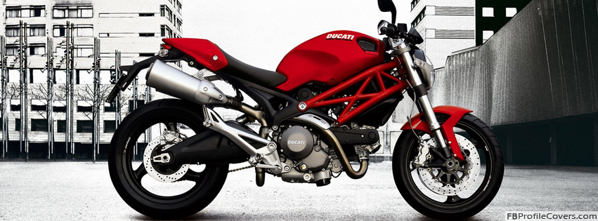 Ducati Monster Bike Facebook Cover Photo For Timeline