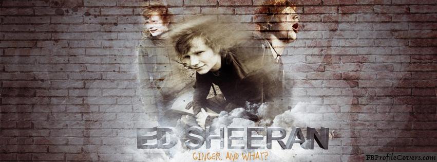 ED Sheeran Facebook Timeline Cover