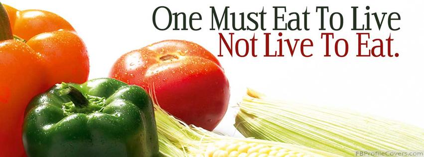 Eat To Live Facebook Timeline Cover
