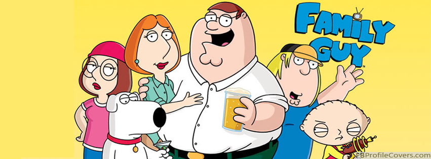 Family Guy Facebook Timeline Cover
