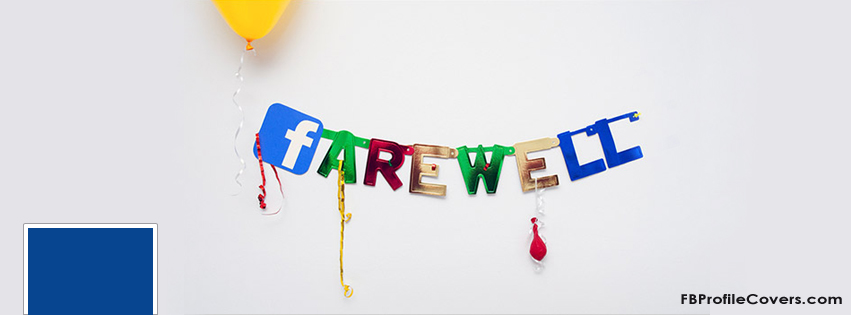 Farewell Facebook timeline cover