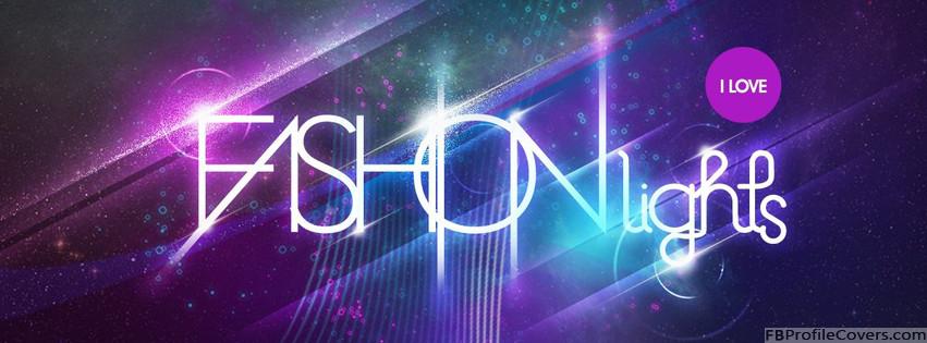 Fashion Lights Facebook Timeline Cover