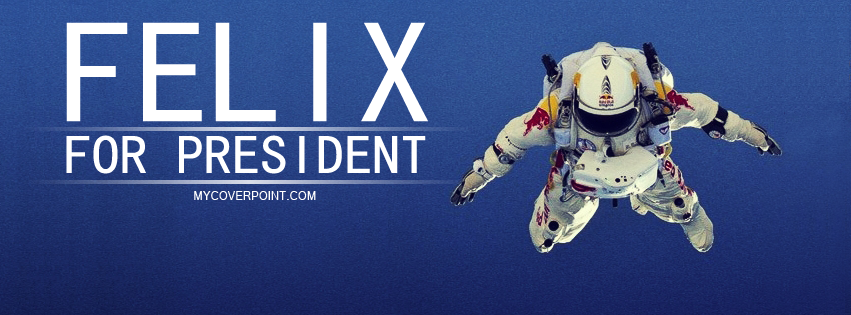 Felix Baumgartner Facebook Cover
