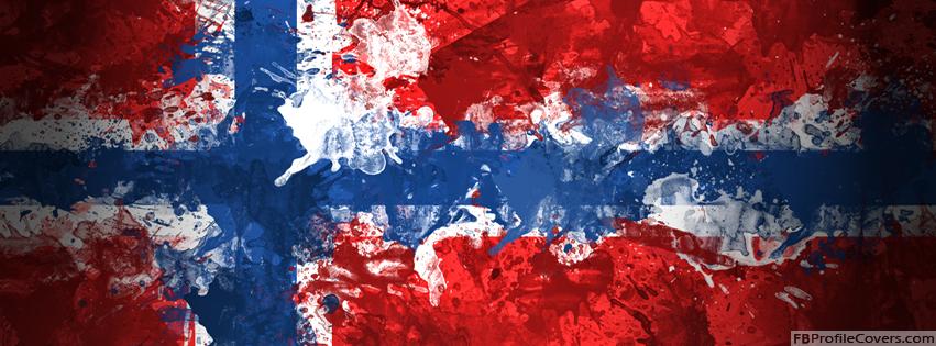Flag Of Norway Facebook Timeline Banner - Flag Covers For Timeline