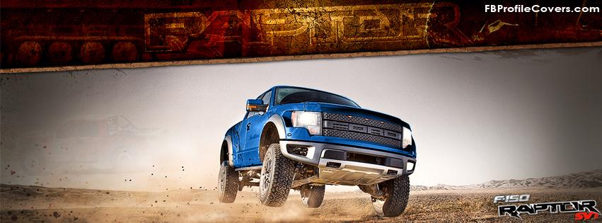 Ford F150 Raptor Facebook Timeline Cover