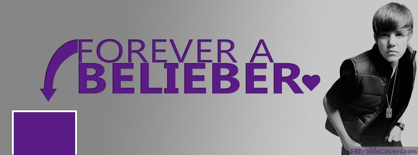 Forever A Belieber Facebook Timeline Cover