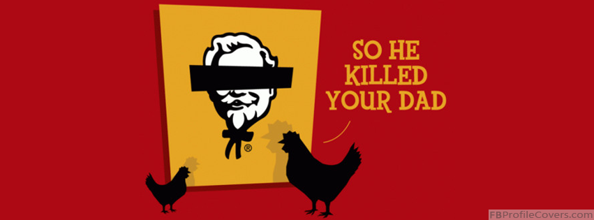 Funny KFC Facebook Timeline Cover Picture
