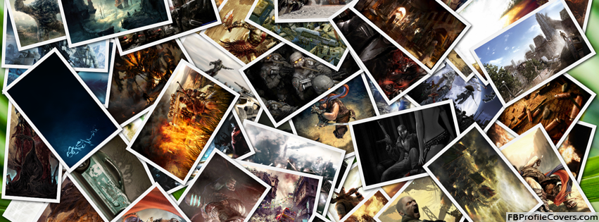 Book Cover Collage Games : Game wallpapers collage facebook timeline cover
