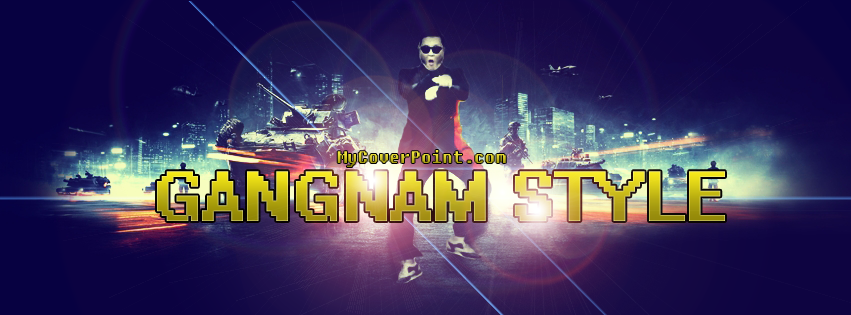 Gangnam Style Facebook Cover