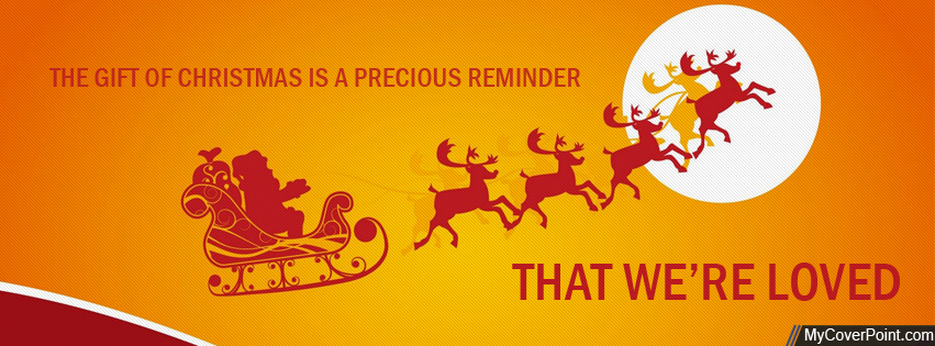 Gift Of Christmas Facebook Timeline Cover
