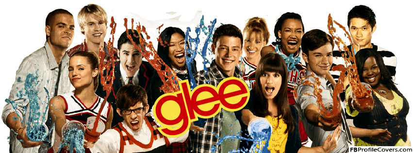 Glee Cover Photo For Facebook Timeline Profile