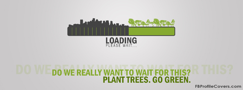 Go Green Facebook Timeline Cover Profile Photo