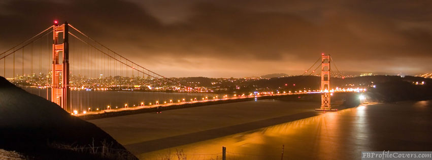Golden Gate Bridge Facebook Timeline Cover