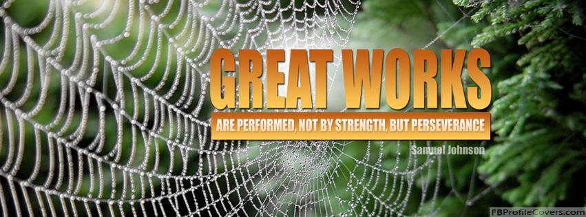 Great Works Facebook Timeline Cover