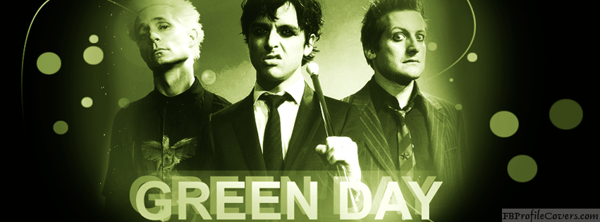 Green Day Facebook Timeline Cover